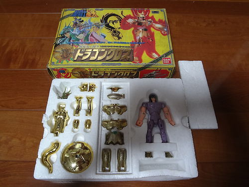 Dragon Shiryu Gold Saint Seiya Vintage (C Cond)