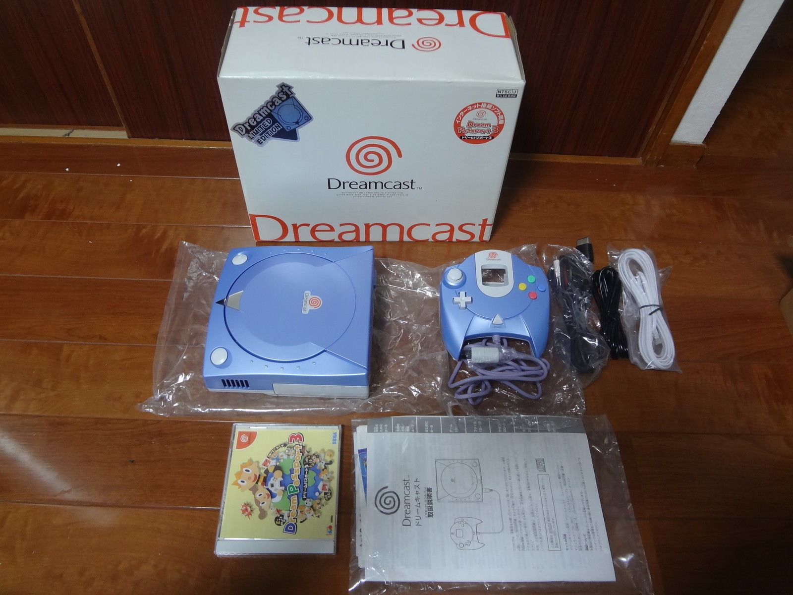 Dreamcast System Pearl Blue Limited System NEW