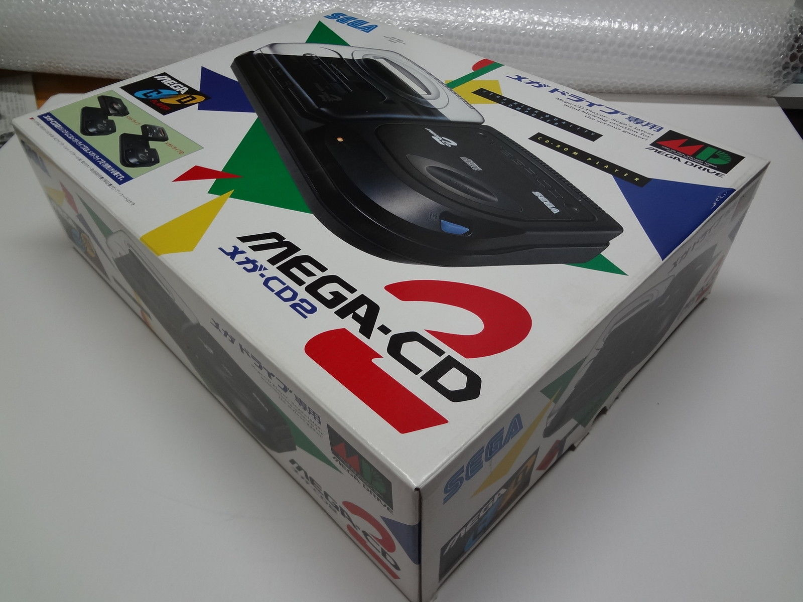 Mega-CD 2 System Sega Japan NEW