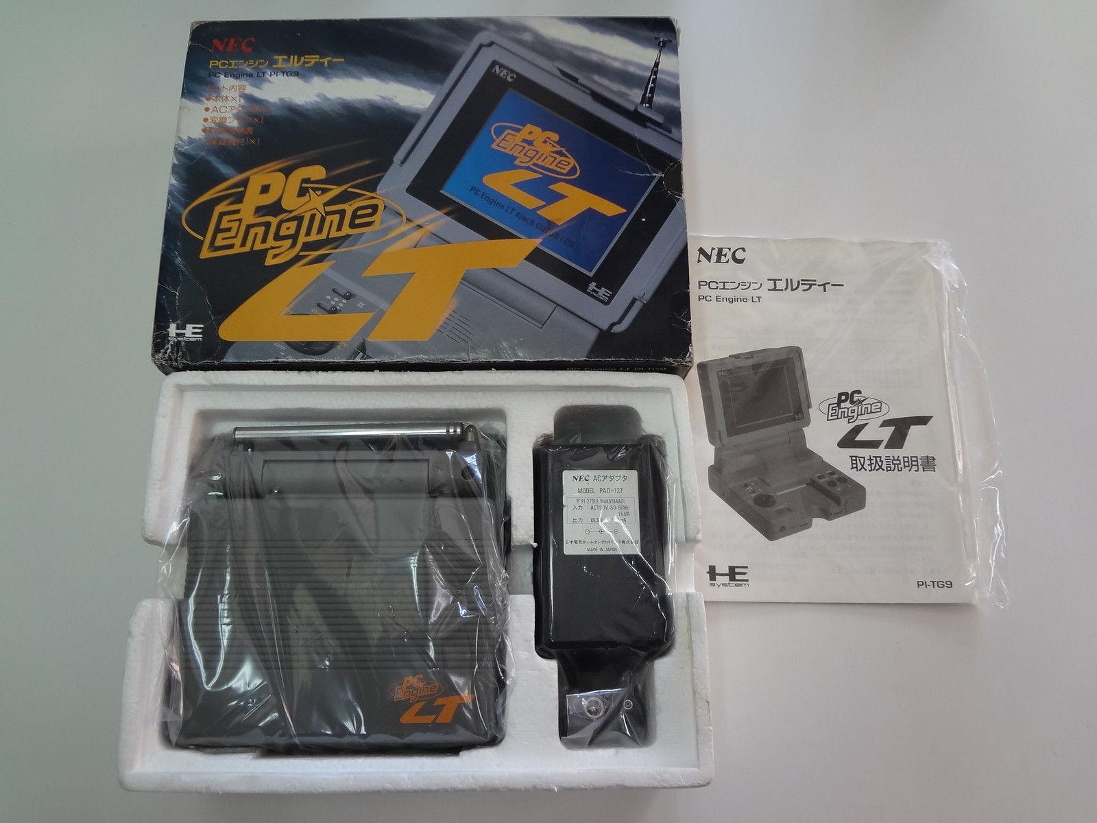 PC-Engine LT System NEC Japan EXC