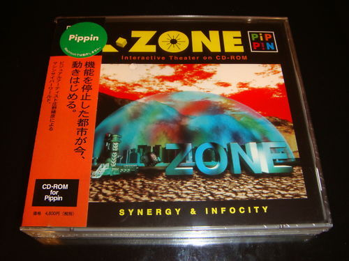 L-Zone Bandai Pippin Japan NEW