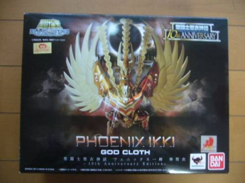 Phoenix Ikki v4 10th Anniversary Edition Myth Cloth