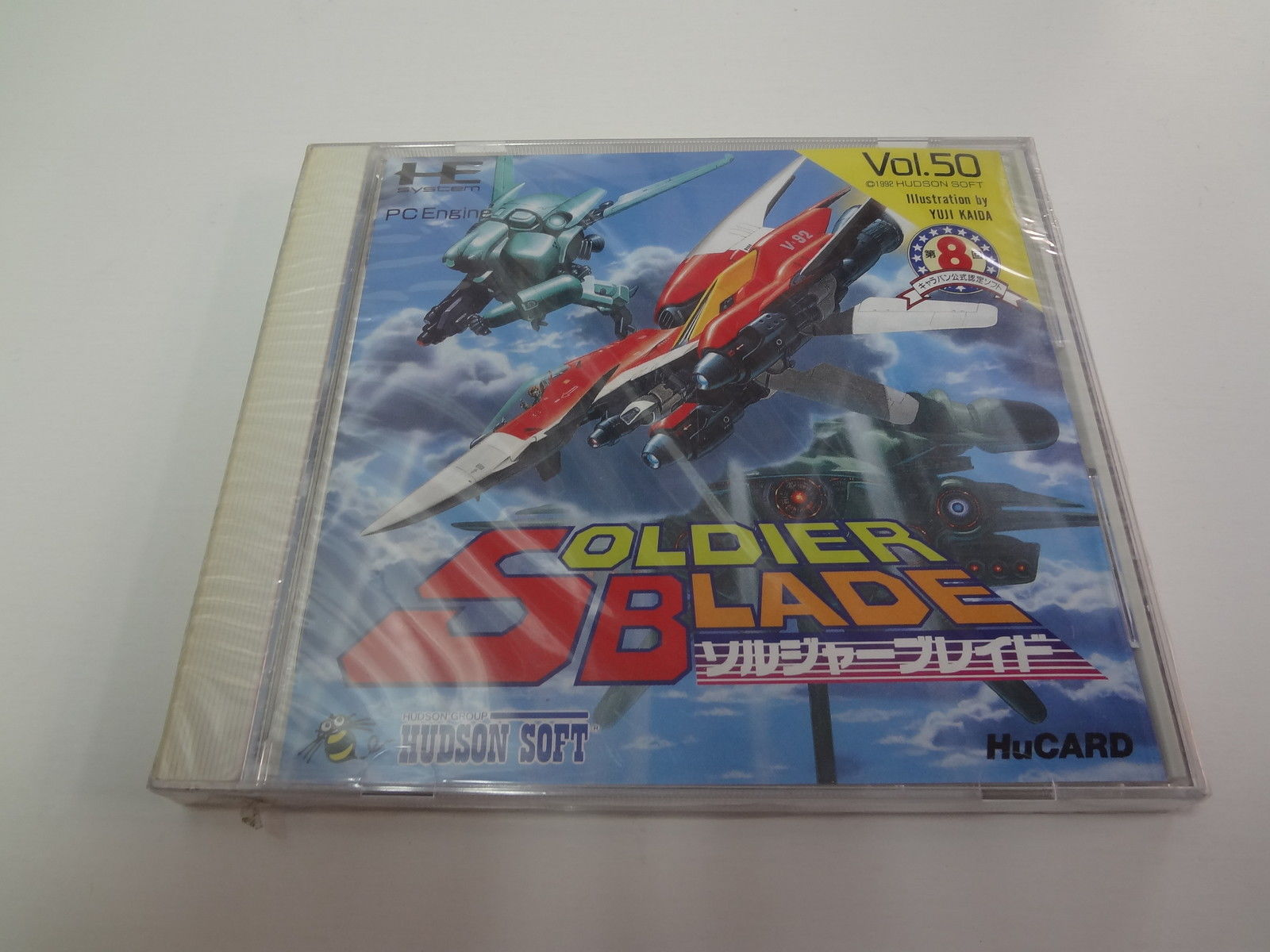 Soldier Blade NEC PC Engine Hu-Card NEW